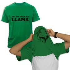 Tee Shirt Halloween Costumes Ask Me About My Llama T Shirt Funny Greenturtle Com