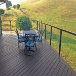 extremely beautiful deck fencing bamboo design ideas