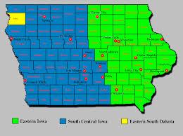 Map Of Cedar Falls Iowa Map Of Western Iowa 25497 Aouo Us