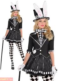 Mad Hatter Halloween Costumes Girls Dark Mad Hatter Halloween Costume Mens Ladies Alice Wonderland