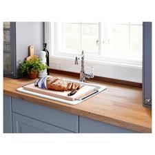 domsjö chopping board beech stainless steel 52x29 cm ikea