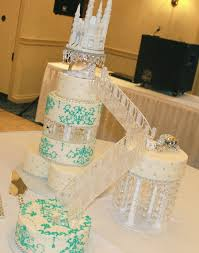 wedding cake castle princess cake wedding cake castle cake staircase cake bling cake