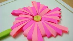 quilling made easy how to make flower using comb paper comb