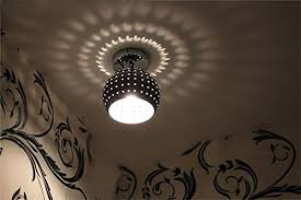 Wrought Iron Ceiling Lights Zeefo Led Ceiling Light Energy Saving Dome L Chandeliers