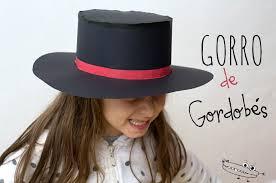 como hacer un sombrero de carton sombrero cordobés de flamenco manualidades infantiles