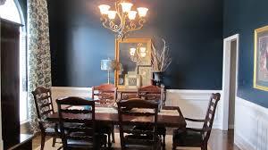 Blue Dining Room - Navy blue dining room