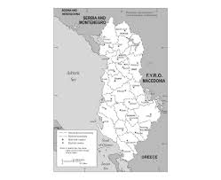 Map Of Albania Maps Of Albania Detailed Map Of Albania In English Tourist Map