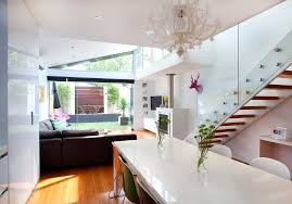 garden feature wall dining room contemporary with white chandelier