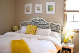 Diy Pillow Headboard Diy Upholstered Headboard Love Your Home