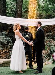 batman wedding dress casual wedding officiated by batman rock n roll
