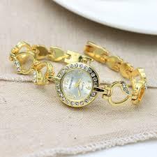 love heart bracelet images Love heart bracelet diamond quartz female watch now lk jpg