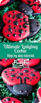 ladybug cookies foodie friday ultimate ladybug cookies fleece
