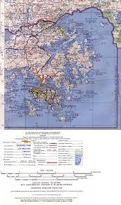 Map Of Hong Kong China by