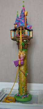 tangled cake topper rapunzel cake topper crafthubs