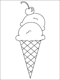 coloring pages ice cream cone ice cream cone coloring pages go digital with us 75c23120363a