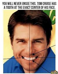 Bad Teeth Meme - tom cruise teeth