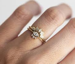delicate engagement rings marquise diamond engagement ring set delicate engagement set