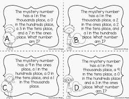 place value mystery number popping into place value saddle up for second grade