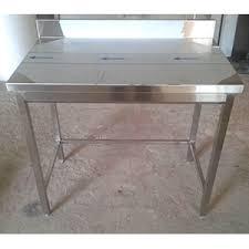 table de cuisine inox table cuisine inox adossée standard matériel de cuisine professionnel