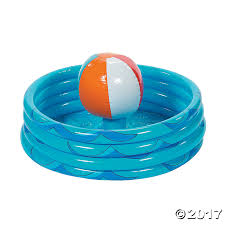Inflatable Table Top Buffet Cooler Beach Ball In Pool Inflatable Cooler