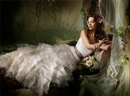 wedding fashion ca wedding fashion trends 2010 ruffles