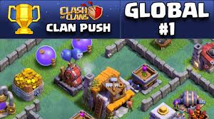 clash of clans builder base update global 1 clan push youtube