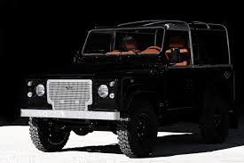 land rover defender 2019 jet black custom land rover defender