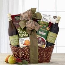 christmas wine gift baskets christmas wine gift baskets by the gift basket pros