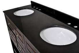 73 inch double sink bathroom vanity espresso finish absolute black