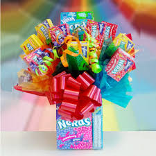 candy gift basket baskets