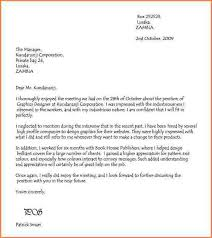 thank you letter for interview thank you letter after job