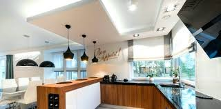 kitchen task lighting ideas kitchen task lighting modern kitchen interior design in black and