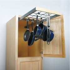 kitchen cabinet organizers for pots and pans knape vogt pot pan pantry pull out cabinet organizer heavy
