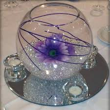 Fish Bowl Decorations Wedding Table Decorations Fish Bowls In Clear Gel Fish Bowl