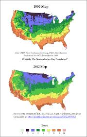 Gardening Zones - new plant hardiness zones confirm what gardeners already know