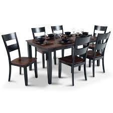 bobs furniture kitchen table set bob s furniture kitchen table set bobs boomerang 7 dining with