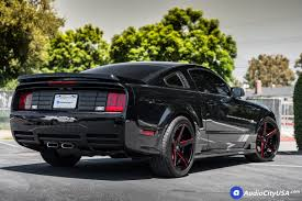 Red Mustang Black Wheels Ford Mustang Wheels And Rims For Sale Audiocityusa Com