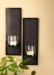Candle Sconces Contemporary Wall Decor Candle Sconces Astonishing Uttermost Kadoka Sconce
