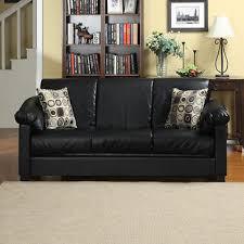 Handy Living Sofa Handy Living Convert A Couch Renu Leather Full Size Sleeper Sofa