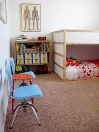 Ikea Kura Bunk Bed How To Arrange The Ikea Kura Bunk Bed For 3 Kids Pretty Cool