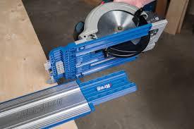 convert circular saw to table saw kreg accu cut circular saw guide