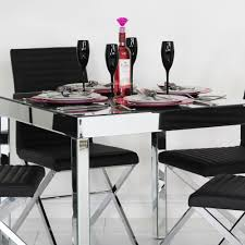 mirrored dining room table mirrored dining table lisandra round dining table sophie