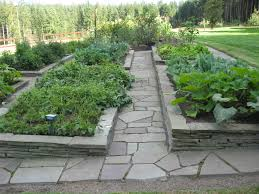 Vegetable Garden Blogs by Raised Vegetable Garden Stone Nyfarms Info
