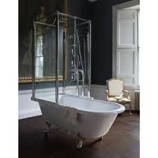 royal over bath shower temple free standing baths roll top royal over bath shower