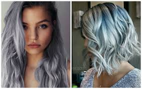 2016 most cool trend of denim inspired hair color for girls