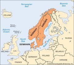 map of europe scandinavia scandinavia region northern europe britannica