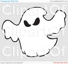spooky clip art royalty free rf clipart illustration of a coloring page outline