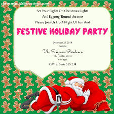 Christmas Party Invitation Ideas U2013 Christmas Celebrations