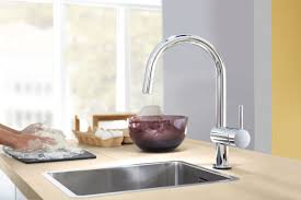Grohe Ladylux Kitchen Faucet Grohe Minta Single Handle Deck Mount Kitchen Faucet With Dual
