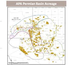 Permian Basin Map Apache Corp Represents The Thorn That America U0027s Oil Frackers Have